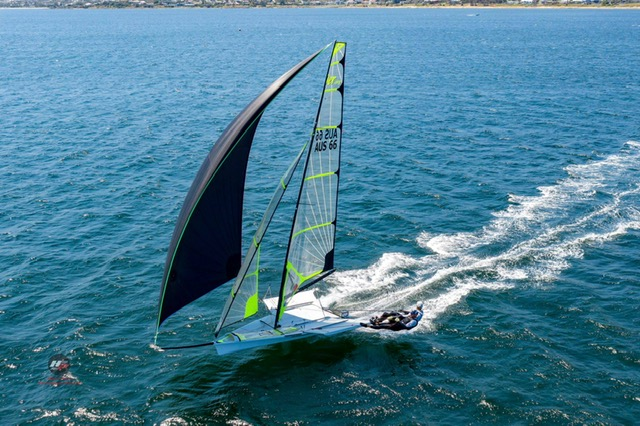 2019 Zhik 9er Australian Championship staged on cooperative Derwent River